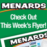 Go to Menards' webpage