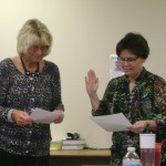 Lynda Vinopal sworn in by RJ Rogers