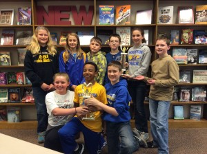 The Three OMS Battle of the Books Teams - Photo taken by Chris Smolek