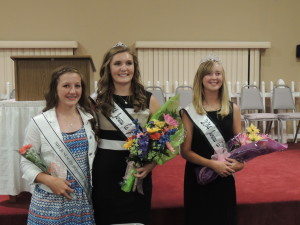 Contributed: (left to right) Rylie Honnold, Kourtney Salverson, and Abigail Bradley